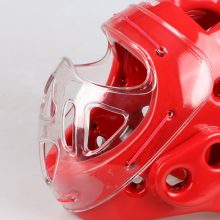 Free shipping Adult kids karate Helmet fitness taekwondo helmets WTF protector headgear with face mask full protective support